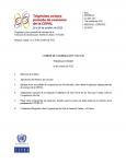 Portada Temario provisional Comité Sur-Sur